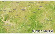 Satellite 3D Map of Tenkodogo