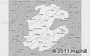 Gray 3D Map of Boulkiemde