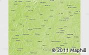 Physical 3D Map of Boulkiemde