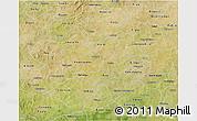 Satellite 3D Map of Boulkiemde