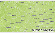 Physical 3D Map of Kindi