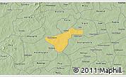 Savanna Style 3D Map of Kindi