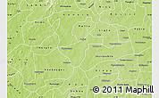 Physical Map of Kindi