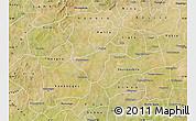 Satellite Map of Kindi