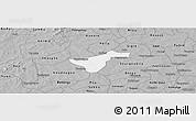 Gray Panoramic Map of Kindi