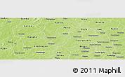 Physical Panoramic Map of Kindi
