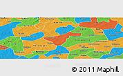 Political Panoramic Map of Kindi