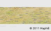 Satellite Panoramic Map of Kindi
