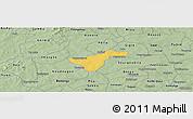 Savanna Style Panoramic Map of Kindi