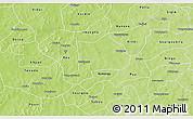 Physical 3D Map of Koudougou