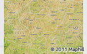 Satellite Map of Koudougou