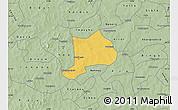 Savanna Style Map of Koudougou