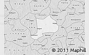 Silver Style Map of Koudougou