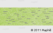 Physical Panoramic Map of Koudougou