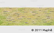 Satellite Panoramic Map of Koudougou