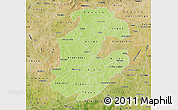 Physical Map of Boulkiemde, satellite outside