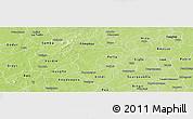 Physical Panoramic Map of Nanoro