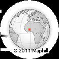 Outline Map of Ramongo