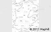 Blank Simple Map of Boulkiemde