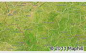 Satellite 3D Map of Comoe