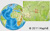 Physical Location Map of Banfora