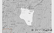Gray Map of Banfora
