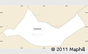 Classic Style Simple Map of Beregadougou
