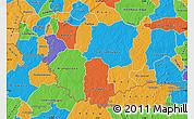 Political Map of Comoe