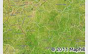 Satellite Map of Comoe