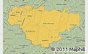 Savanna Style Map of Comoe