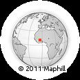 Outline Map of Moussodougou