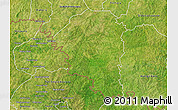 Satellite 3D Map of Niangoloko
