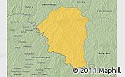 Savanna Style 3D Map of Niangoloko