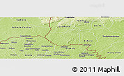 Physical Panoramic Map of Niankorodougou