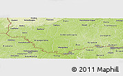 Physical Panoramic Map of Comoe