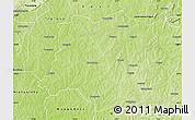 Physical Map of Sideradougou