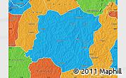 Political Map of Sideradougou