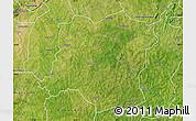 Satellite Map of Sideradougou