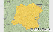 Savanna Style Map of Sideradougou