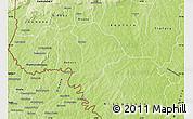 Physical Map of Soubakaniedougou