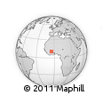Outline Map of Soubakaniedougou