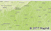 Physical 3D Map of Tiefora
