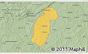 Savanna Style 3D Map of Tiefora