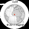Outline Map of Kogho
