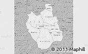 Gray Map of Ganzourgou