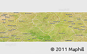 Satellite Panoramic Map of Mogtedo
