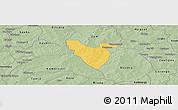 Savanna Style Panoramic Map of Mogtedo