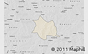 Shaded Relief Map of Zam, desaturated