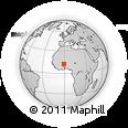Outline Map of Zam