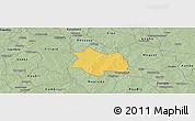 Savanna Style Panoramic Map of Zam